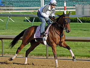 Beholder Holding Her Own for Kentucky Oaks