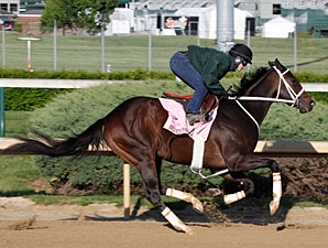 Believe You Can working at Churchill Downs 4/23/2012.