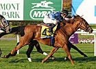 Belle Allure Up Late to Win Athenia Stakes