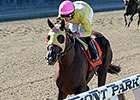 Belle Gallantey Wire to Wire in Beldame