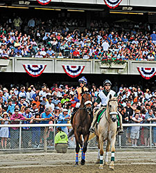 Belmont Mega-Day Shines Along With 'Chrome'