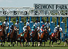 Across-the-Board Increases at Belmont Meet