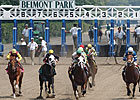 Belmont Attendance Better, Total Handle Dips