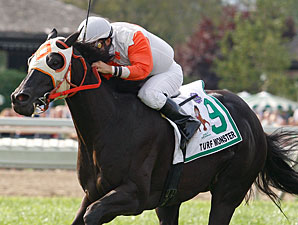 Ben's Cat wins the 2011 Turf Monster.