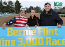 Oaklawn Victory Gives Trainer Flint 3,000th Win