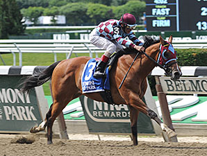 Bessie's Boy wins the 2014 Tremont Stakes.