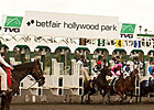Hollywood Park Handle, Field Size Show Gains