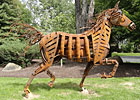 Horse Art Inspired by Phar Lap, Secretariat
