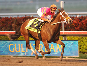 Bickersons Runs Away With Forward Gal Stakes