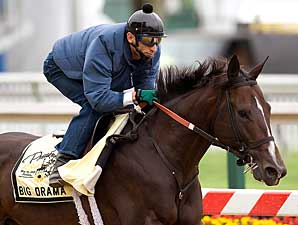 Big Drama in Only Pimlico Workout on Monday
