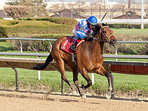 Big Looie wins the 2014 Milwaukee Avenue Handicap.