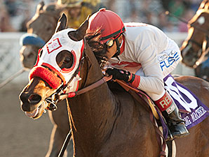 Big Macher wins the 2014 California Cup Sprint.