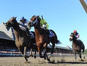 Blame wins the 2010 Whitney.