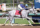 Higgins Rides First Winner at Santa Anita