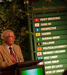 Large, Speedy Blue Grass Field Led by Hansen