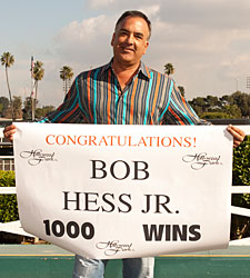 Trainer Bob Hess Jr. Records 1,000th Win