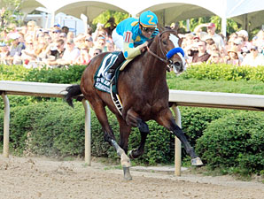 Bodemeister Blasts Off in Arkansas Derby