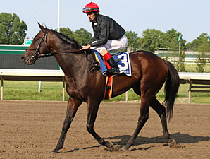 Boisterous wins the Monmouth Stakes.
