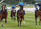 Bracelet Shines in Irish Oaks Victory