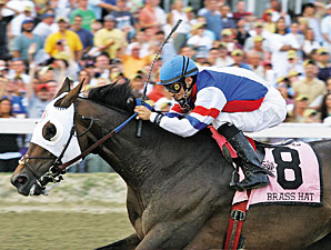 Brass Hat to Run in Louisville 'Cap