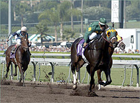 Cajun Beat Wins Race to the Wire in Breeders' Cup Sprint
