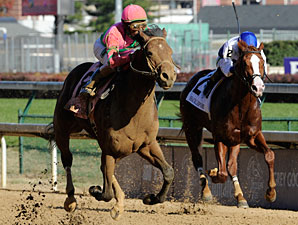 Caleb's Posse Soars in Dirt Mile