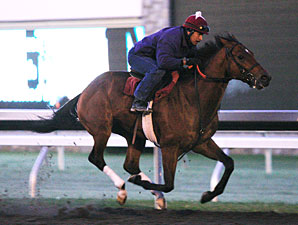 Caleb's Posse Breezes Again at Keeneland
