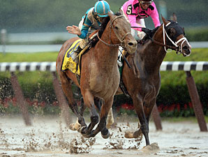 Belmont Eve: Dealing with a Soupy Track