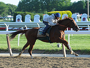 California Chrome Sharp in Final Belmont Work