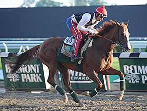 California Chrome Posts Another Strong Gallop