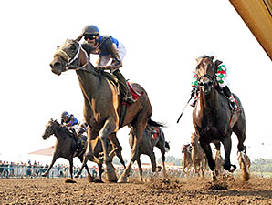 Call Pat wins the 2015 Groupie Doll Stakes.