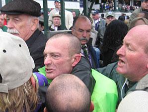 Fighting Jockeys Meet With Kentucky Stewards