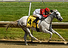 Careless Jewel Steals Delaware Oaks at 10-1