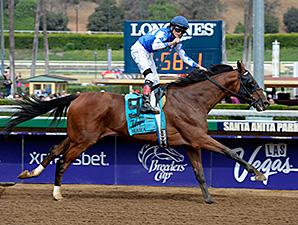 Cary Street wins the 2014 Las Vegas Marathon Stakes.