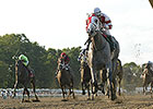 Cassatt Muscles to Victory in Monmouth Oaks