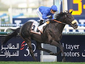 Cavalryman wins the 2013 Dubai Gold Cup.