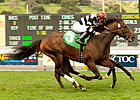 Champ Pegasus Nips &#39;Bourbon&#39; in SLO Thriller