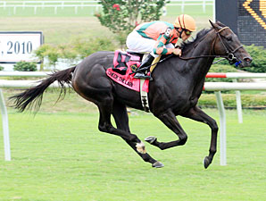 Va. Oaks: Check the Label Impresses Again