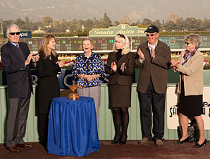 Chenery Visits Santa Anita On Vox Populi Day