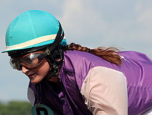 With Family's Help, Jockey Carries Heavy Load