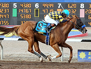 Chitu Cuts Loose for Sunland Derby Triumph