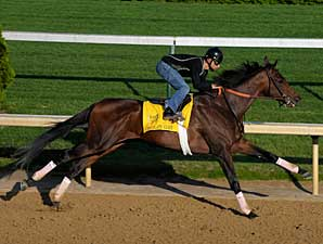 Chocolate Candy works at Churchill Downs on April 21
