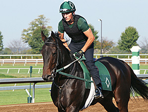Close Hatches - Keeneland, October 2, 2014.