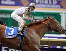 Cobalt Blue Storms Home to Capture Select Stakes