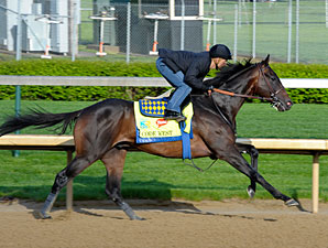 Code West and Mike Smith work towards the Kentucky Derby.