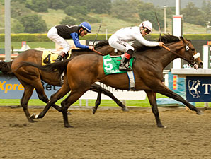 Colonel John Commands Santa Anita Derby