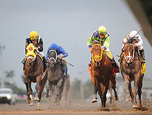 Gulfstream Sets Florida Derby Day Handle Mark