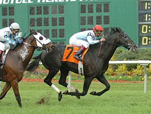 Cosmonaut flies to victory in the Tampa Bay Breeders' Cup.