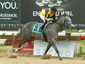 Countess Bling wins the 2013 Juvenile Stakes.