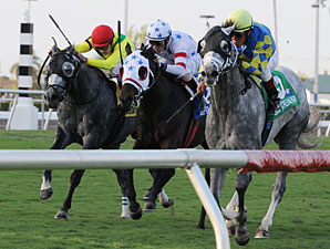 Court Vision Wins GP Turf Handicap After DQ